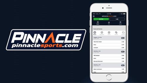 Pinnaclesports com. Мобильное приложение